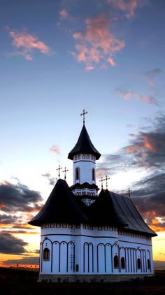 The Beautiful Moldavian Style Church Of Zosin, Botosani Romania Ver todas las fotos. Les Religions, Houses Of The Holy, Church Architecture, Cathedral Church, Old Churches, Church Building, Exotic Places, Chapelle, Place Of Worship