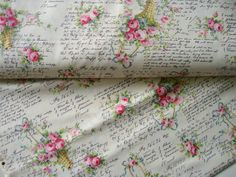 Fabric Cotton - Vintage Bouquet