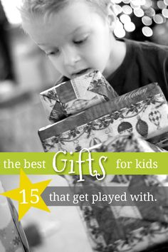Find out the best gifts for young kids from real moms. These are readers kids' favorite toys right now. They're the ones that get played with over and over.