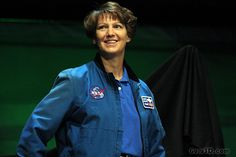 Eileen Collins - US astronaut who was the first female pilot of a space shuttle and the first female shuttle commander.