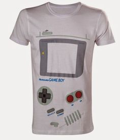 2e985e7d24c Buy Nintendo Game Boy T-Shirt at Mighty Ape NZ. Nintendo Game Boy T-Shirt  High quality t-shirt Officially licensed Size  Medium Material  Cotton