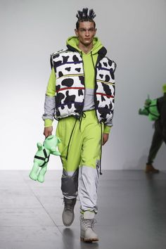 Bobby Abley London Menswear Collection SS18