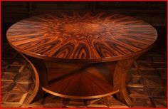 Radial Table detail