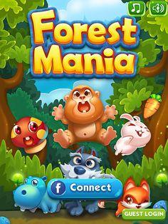 Forest Mania Login: screenshots, UI