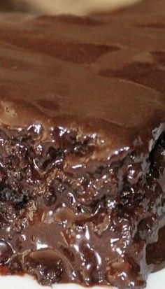 Triple Chocolate Coca-Cola Sheet Cake
