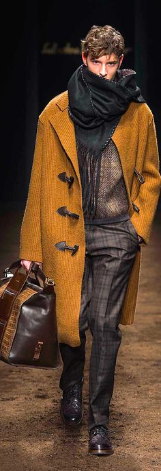 Salvatore Ferragamo ~ Men's Fall Fashion 2015-16 | Men's Fashion | Menswear | Moda Masculina | Shop at designerclothingfans.com