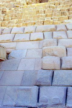 отделка пирамиды Микерина