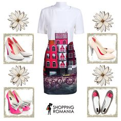 #White inspired #outfit from www.shoppingromania.com