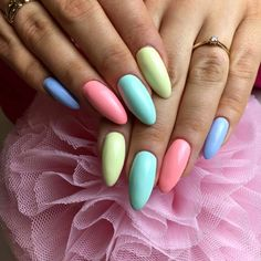 Miami Collection by Natalia Siwiec Call Me a Unicorn Los Flamingos See U Later, Alligator Chiquita Banana by Paula, Madeleine Studio #nails #nail #indigo #indigonails #pastel #pastelnails #summernails #summer #springnails #miami #nataliasiwiec