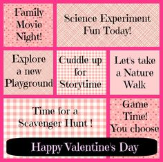 Free printable Valentine's coupons for kids