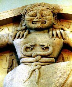 Gorgona del Templo de Corfú