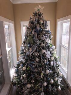 Xmas tree 2017 The first snowfall