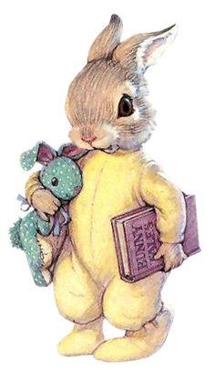53 New Ideas Drawing Cute Bunny Rabbit Bunny Art, Cute Bunny, Lapin Art, Art Mignon, Rabbit Art, Bunny Rabbit, Beatrix Potter, Vintage Easter, Children's Book Illustration