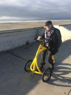 The Alinker - Together We Move Differently --The coolest walking bike for everyone who wants to stay active, no matter what. --------------- (INDIEGOGO Campain)