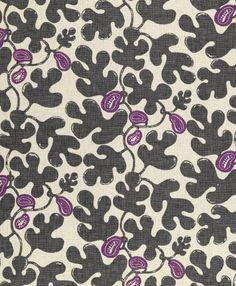 motif linen fabric DESIGNERS: FIG  BORDERLINE