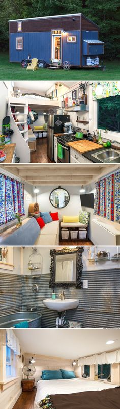 The Little Lou: a 200 sq ft tiny house made from repurposed and recycled materials