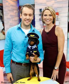 Crusoe the Celebrity Dachshund on Good Morning America