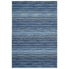 Safavieh HIM707A Himalaya Blue and Multi Colored Area Rug  Himalaya Blue and Multi Colored Area RugThe casual allure of contemporary Tibetan carpets is