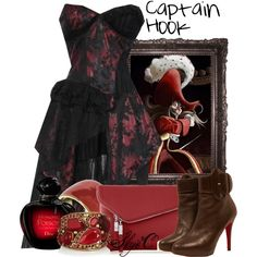 """Captain Hook - Prom - Disney's Peter Pan"" by rubytyra on Polyvore"