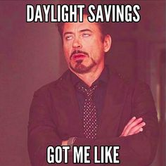 It's that time of year again — the time of year when we go to bed and wake up the next day only to find out we have to change all of our clocks.
