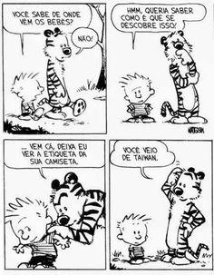 Hahahahahaha Comic Strips the best calvin and hobbes comic (well to me anyway) Calvin Und Hobbes, Calvin And Hobbes Comics, Best Calvin And Hobbes, Comics Und Cartoons, Fun Comics, Comics Illustration, Illustrations, Caricatures, Beste Comics