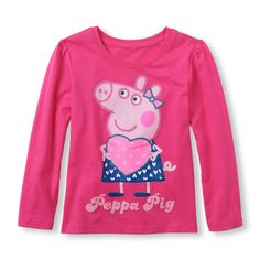 Check out The Children's Place for a great selection of kids clothes, baby clothes & more. Shop at the PLACE where big fashion meets little prices! Dresses Kids Girl, Toddler Girl Outfits, Real Baby Dolls, Baby Girl Tops, My Beautiful Daughter, Peppa Pig, Baby Girl Fashion, Kids Girls, Graphic Tees