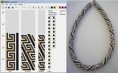 Bead Crochet Pattern.