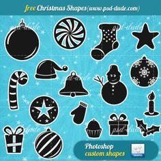 Christmas Free Vector Shapes
