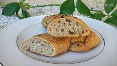 Kváskové bagety - recept   Varecha.sk Bread, Food, Brot, Essen, Baking, Meals, Breads, Buns, Yemek