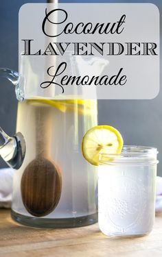... Lavender Lemonade is the perfect drink for when everyone is together