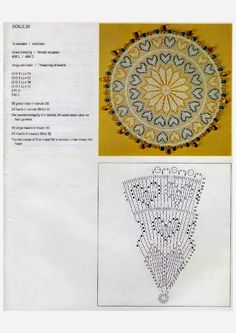 Doilies (Kenneth Moir) Afrikaans & English Crochet Doilies, Crochet Hearts, Crochet Home, Tapestry, Valentines, Crafty, Beads, Knitting, Afrikaans