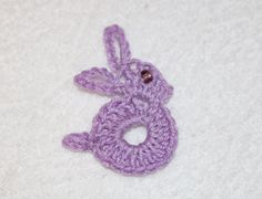 Coniglietto all'uncinetto - Crochet Easter Bunny
