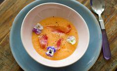 sopa de melon (meloensoep)