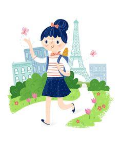 Bonjour Spring by Alyssa Nassner