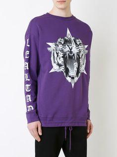 Marcelo Burlon County Of Milan Sweatshirt mit Tiger-Print