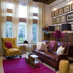Greenwood Village Home - traditional - living room - denver - Andrea Schumacher