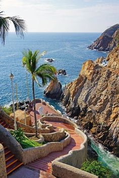 Acapulco, Mexico - America do Norte Places Around The World, Oh The Places You'll Go, Travel Around The World, Places To Travel, Travel Destinations, Places To Visit, Dream Vacations, Vacation Spots, Wonderful Places