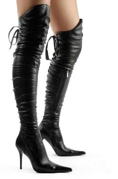 118.00$  Watch now - http://aliktq.worldwells.pw/go.php?t=32786735823 - Womens thigh high boots sexy black motorcycle boots high heels over the knee boots woman open toe lace up thin heel booties