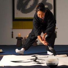 Akiko Crowther - shodo - japanese calligraphy