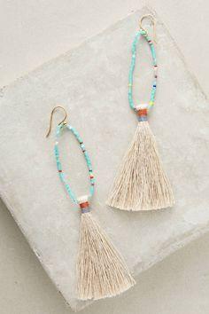 Bluma Project Lupe Beaded Drop Earrings