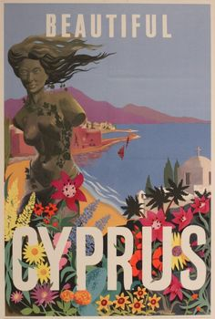 Poster printed for Cyprus Gov. by Auger London