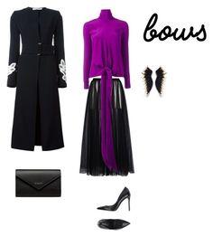 """Lous"" by francy78 on Polyvore featuring moda, Victoria Beckham, Le Silla, Valentino e Balenciaga"