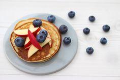 Madbloggeriet - Inspiration til en sund livsstil - Søde proteinrige pandekager
