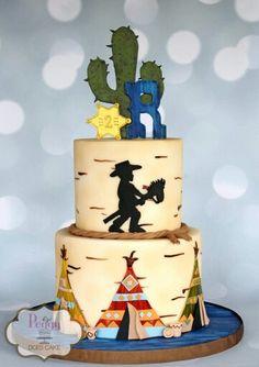 Wild West cake