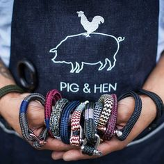 Lucky bracelets that help you find your way home (handmade in Holland) - Pig&Hen #fashion #Juttu