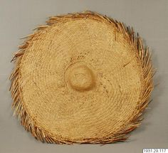 Hat , Niger delta, Nigeria. Stockholm world cultures museum