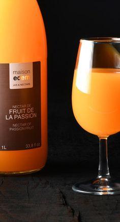 maison edem  jus et nectar de fruits exotiques www.maison-edem.com Hurricane Glass, White Wine, Alcoholic Drinks, Tableware, Food, Exotic Fruit, Juice, Home, Dinnerware