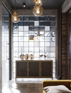 New project for office spaces loft style on Behance