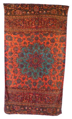 Whoa, beautiful but expensive! Alladin Beach Towel in Orange design by Fresco Towels