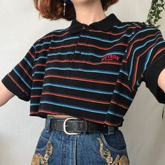 Such a wardrobe necessity, cute cute cropped a a - Depop Love this! Such a wardrobe necessity, cute cute cropped a a - Depop Retro Outfits, Indie Outfits, Cute Casual Outfits, Edgy Outfits, Vintage Outfits, Soft Grunge Outfits, Indie Clothes, Summer Outfits, Layering Outfits